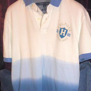 Tommy Hilfiger Tie Dye Polo L Custom Fit